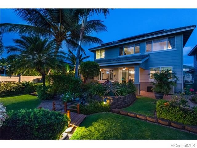 Property 91-224 LUKINI Place, Ewa Beach, HI 96706 - MLS® #201607473 - Golf course frontage rare Sandalwood model in the prestigious Gated community of Huelani. Entertain and enjoy the sunset in th