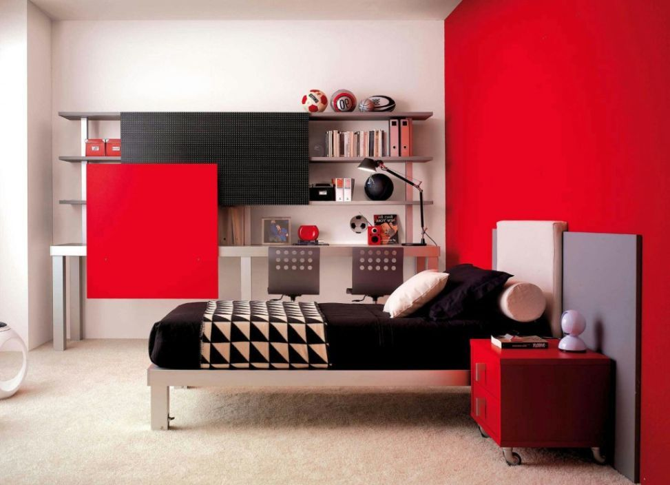 Computer Bedroom Decor Design 12 superb room decor ideas for teenage boys | room | pinterest