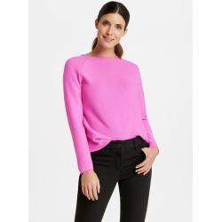 Photo of Pullover aus reiner Baumwolle Pink Gerry Weber