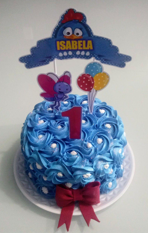 Smash The Cake Galinha Pintadinha Com Imagens Glace Para Bolo
