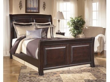 Signature Design By Ashley Queen Sleigh Footboard B520 74 Heaven