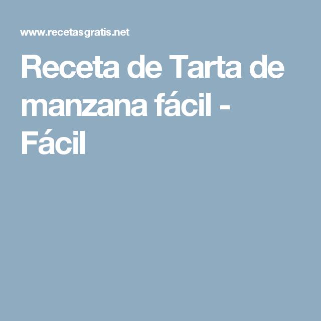 Receta De Tarta De Manzana Facil Receta Tarta De Manzana Salsa De Yogur Y Recetas
