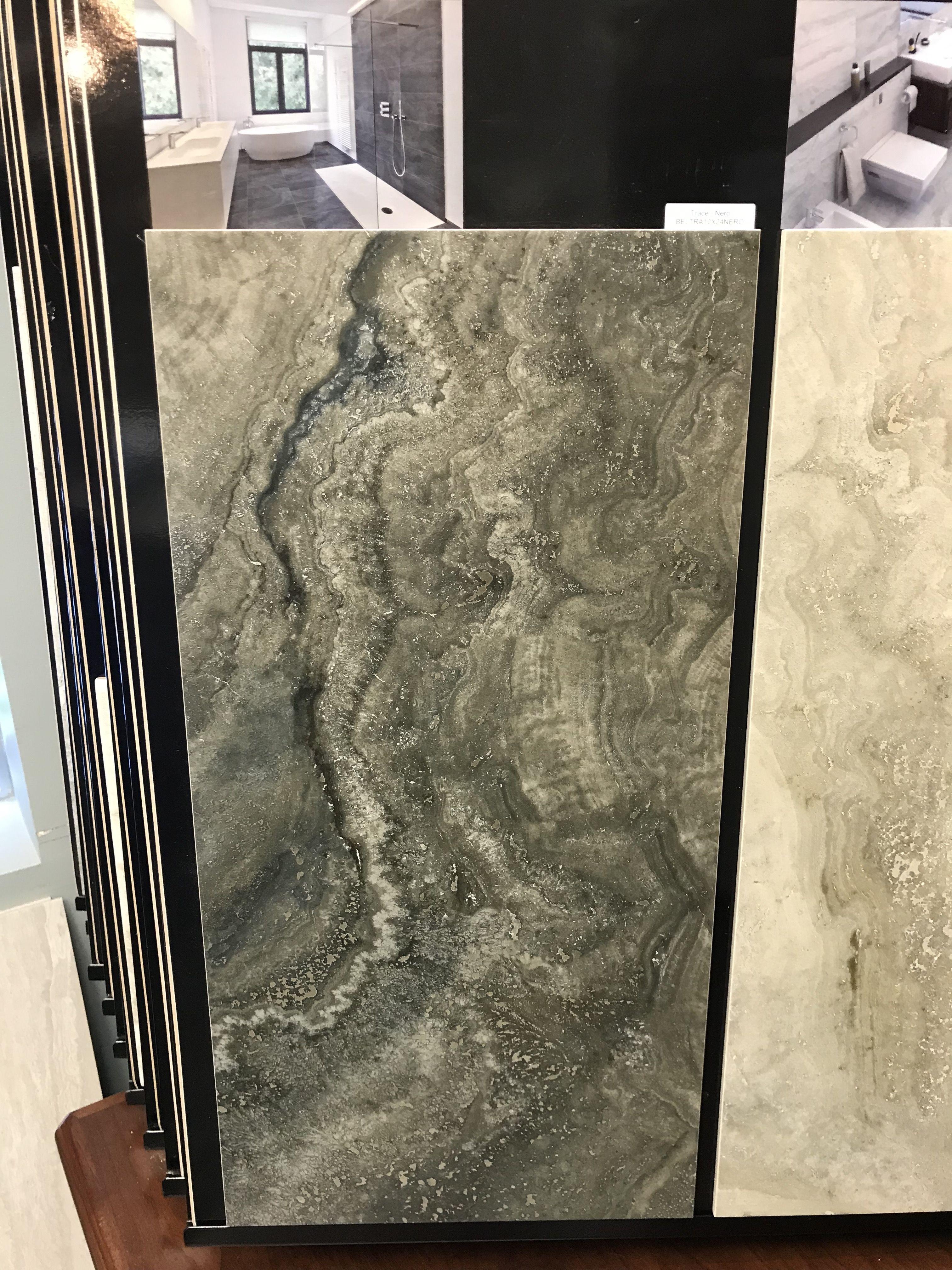 Cool Ceramic Tile Works Bel Trace Nero 12X24 Grout 60 Dusty Gray Interior Design Ideas Tzicisoteloinfo