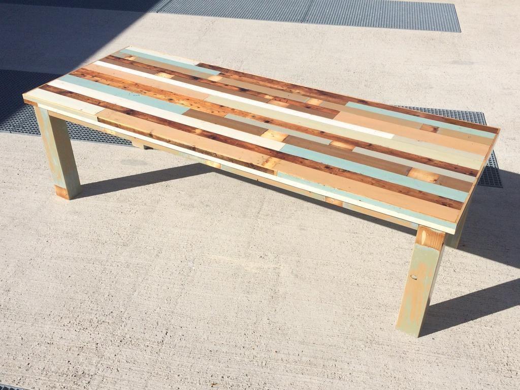 tafel, sloophout, sloophout tafel, tafel 246810