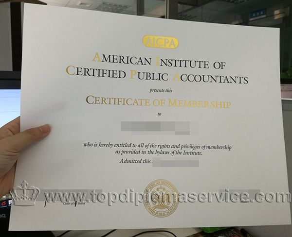 Buy Fake Aicpa Certificate In Membership Buy American Cert Http