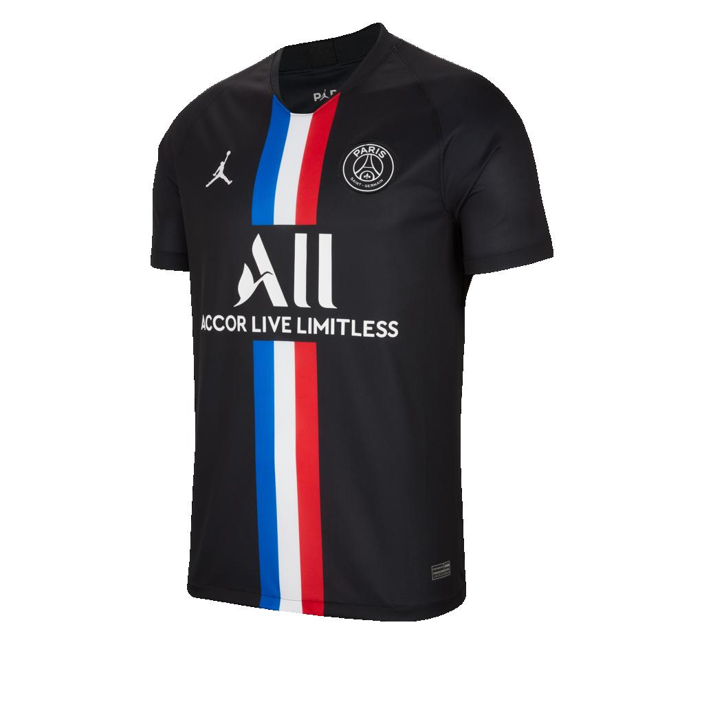 Jordan X Paris Saint Germain 2019 2020 In 2020 Paris Saint Germain Paris Saint Football Shirts