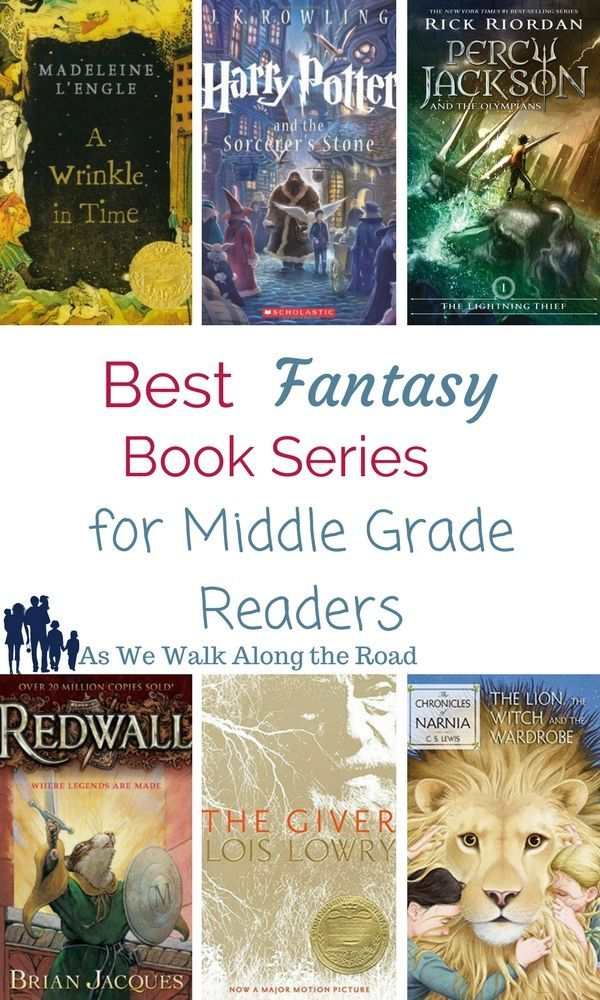 Best Fantasy Book Series for Middle Grade Readers