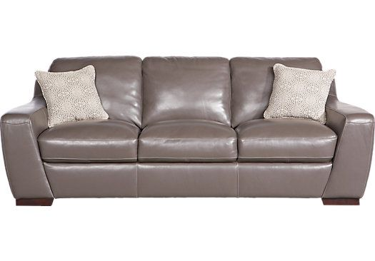 Shop For A Cindy Crawford Home Gavello Leather Sofa At Rooms To Go. Find  Leather