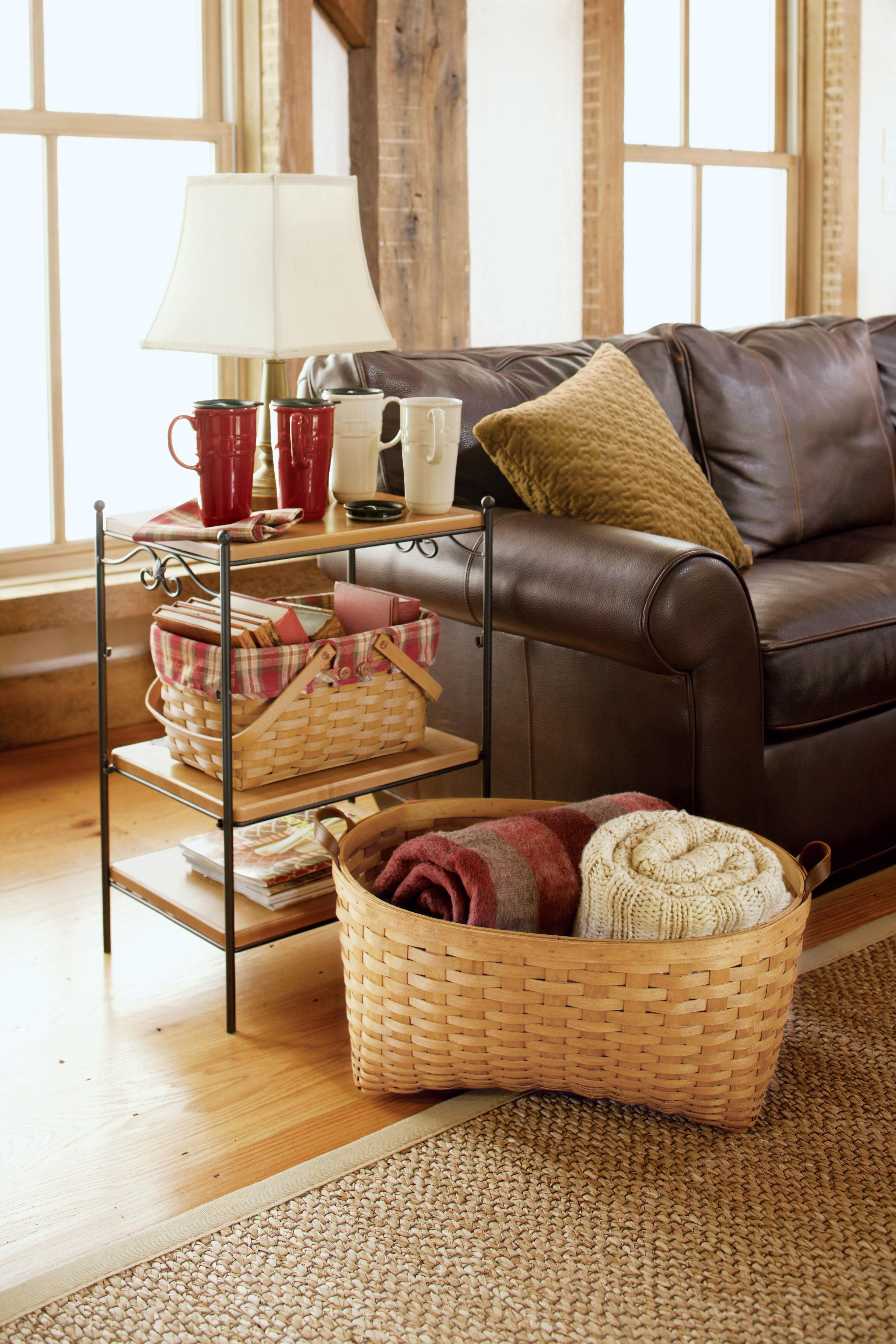 title | Living Room Blanket Storage Ideas