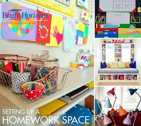 Kids Homework Room Ideas: Setting Up A Homework Space