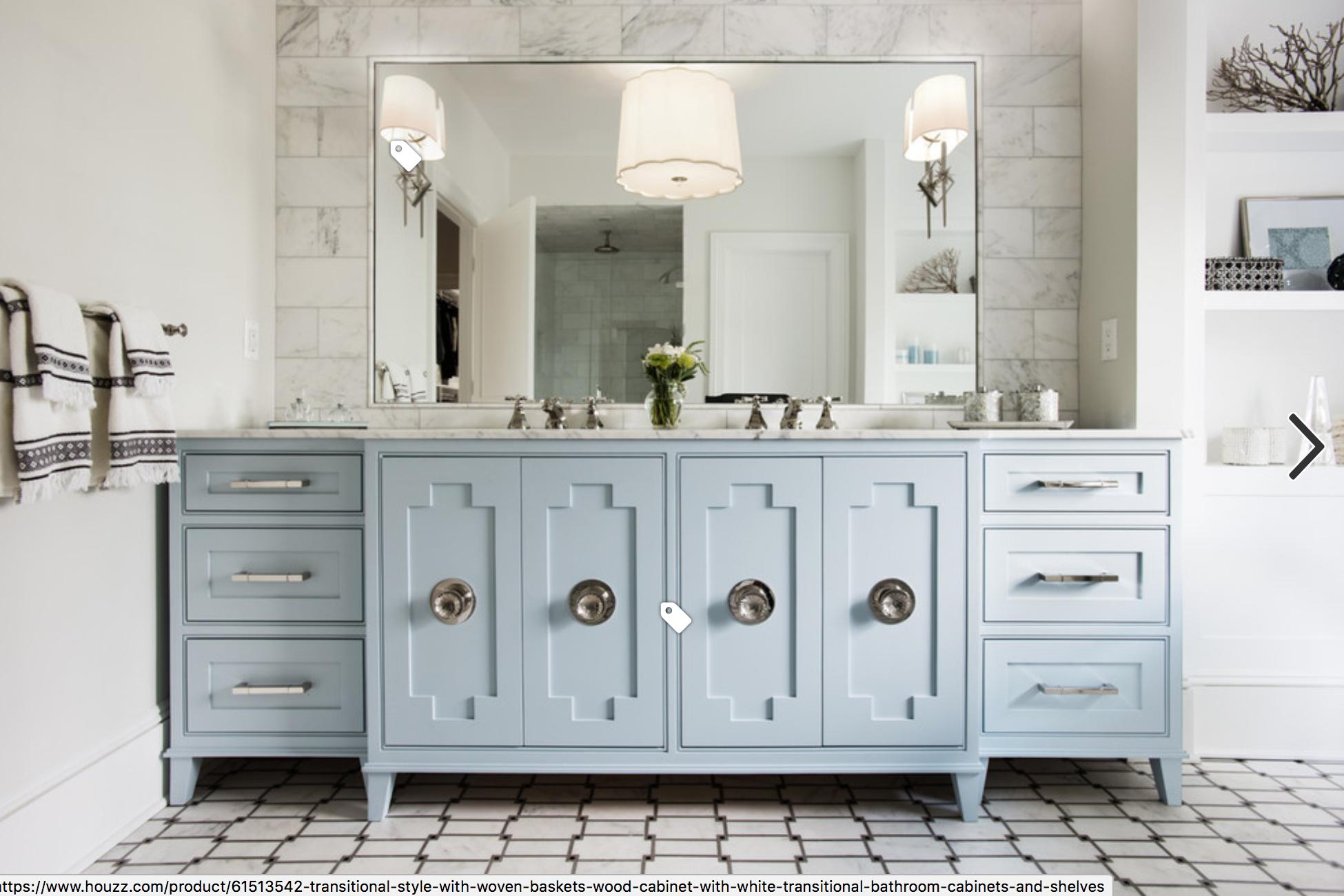Custom Vanity Blue Bathroom Vanity Blue Bathroom Interior Trending Decor