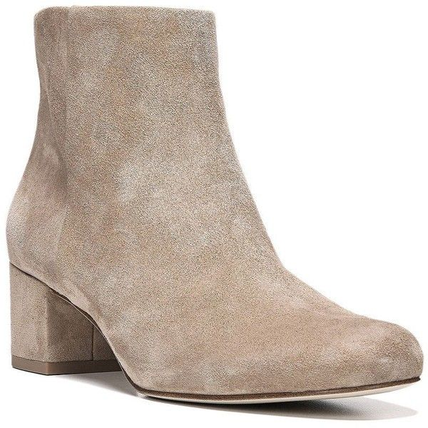 73d6ecc55d979 Sam Edelman Edith Suede Ankle Boots ( 150) ❤ liked on Polyvore featuring  shoes