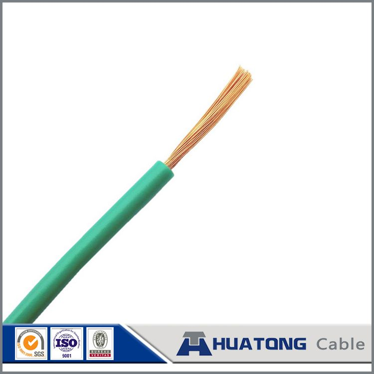 Flexible house wiring electrical cable 450/750V PVC Insulated RVV ...