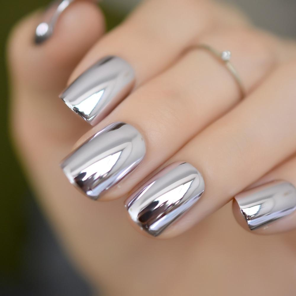 Light Blue Acrylic Nails Design Art Ideas
