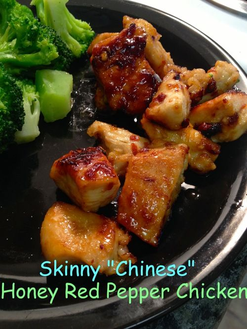 Skinny chinese food honey red pepper chicken so good and easy to skinny chinese food honey red pepper chicken so good and easy to make only need 4 ingredients much healthier than when you order out forumfinder Image collections