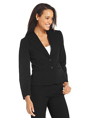 AGB Jacket, Two Button Suit - Womens Jackets & Blazers - Macy's