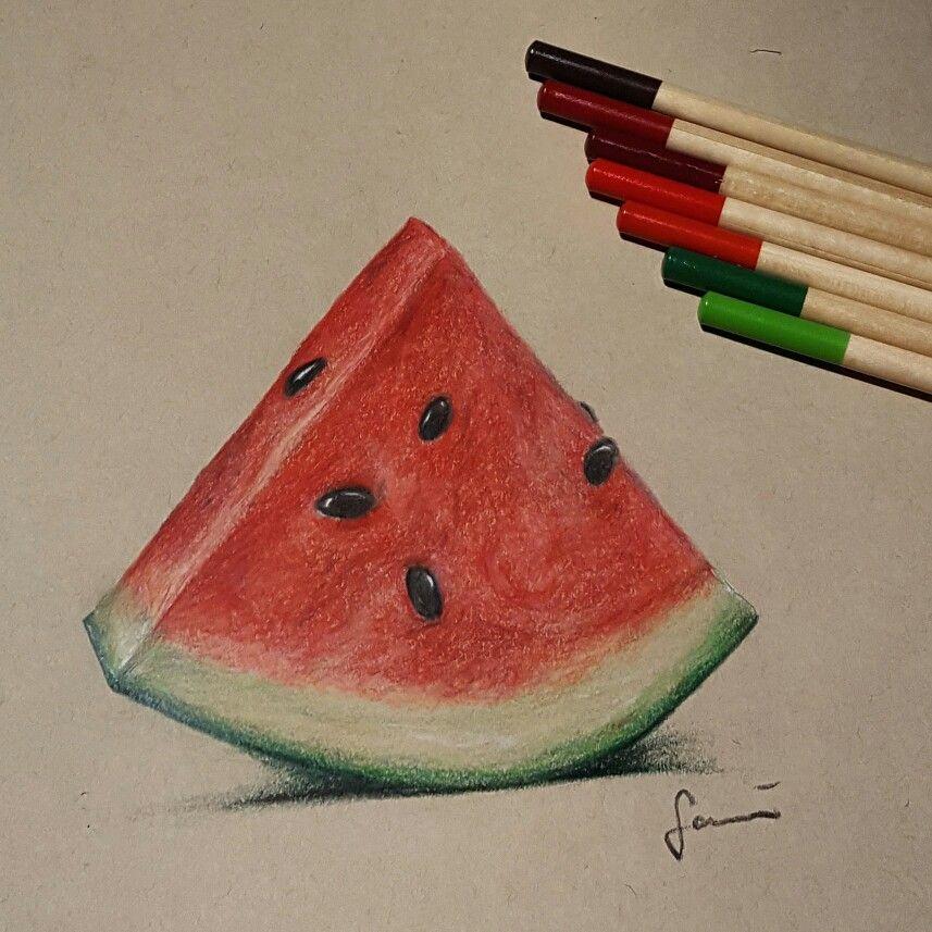Watermelon drawing