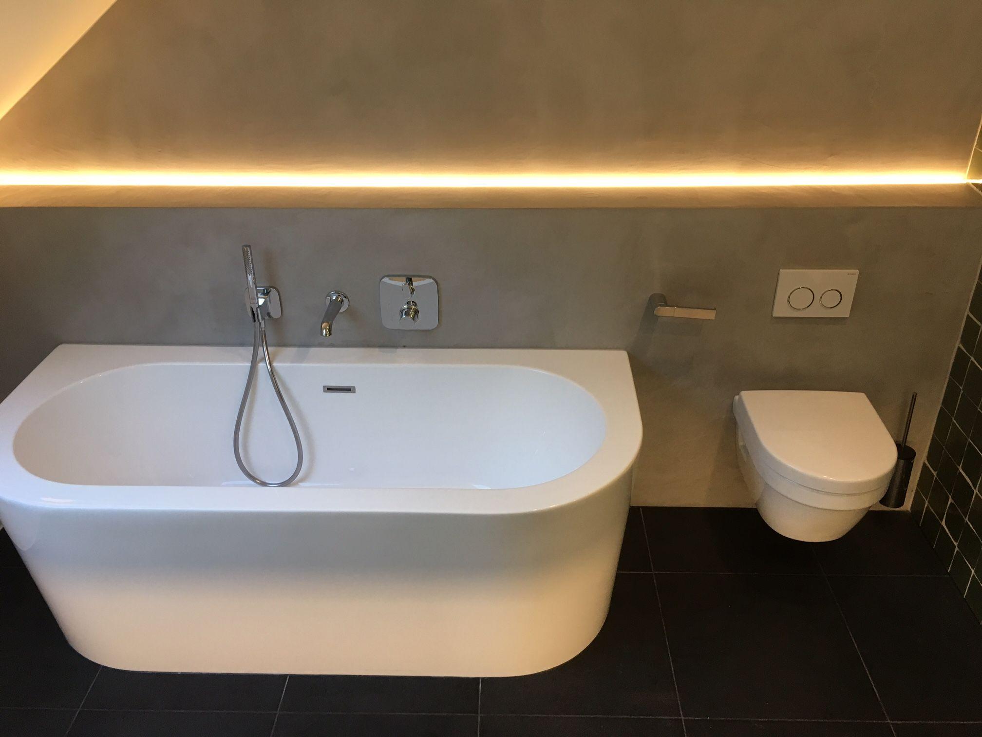 Betonstuc Badkamer Kosten : Badkamer in verbau betonstuc kleur ijzererts verbau