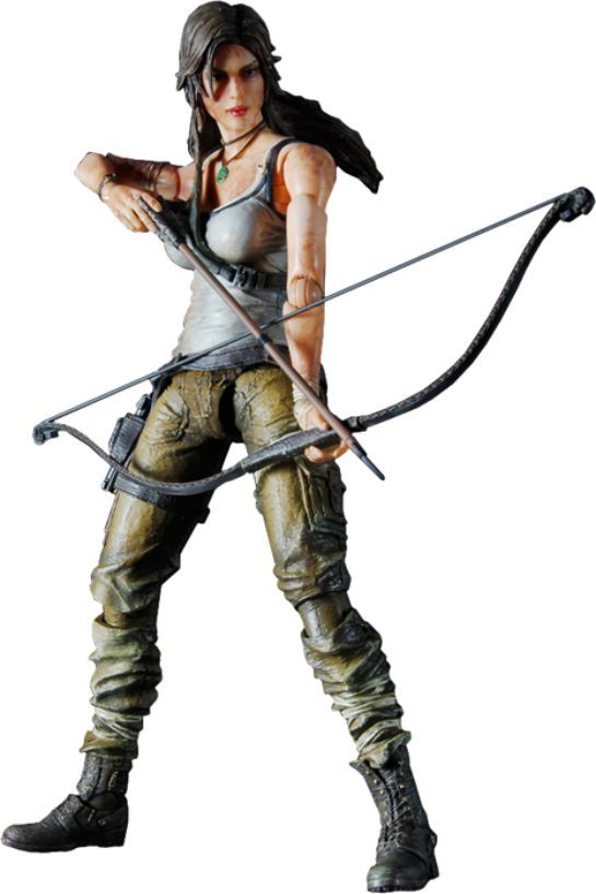 Tomb Raider Play Arts Kai Action Figure Lara Croft - The Movie Store