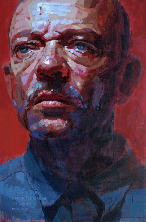 Laurent Dauptain,  Selfportrait (Autoportrait) on ArtStack #laurent-dauptain #art