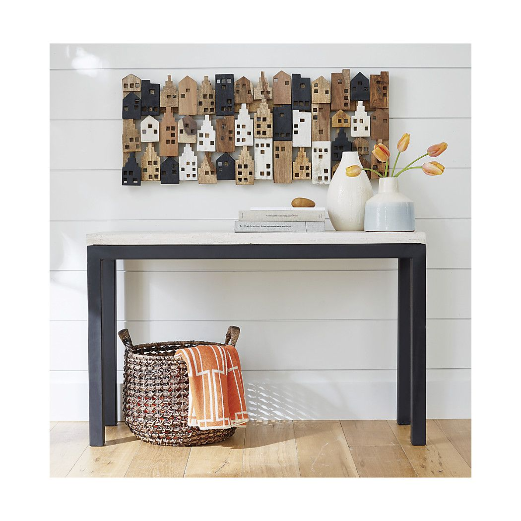 Create a welcoming entryway or create a chic living room display ...