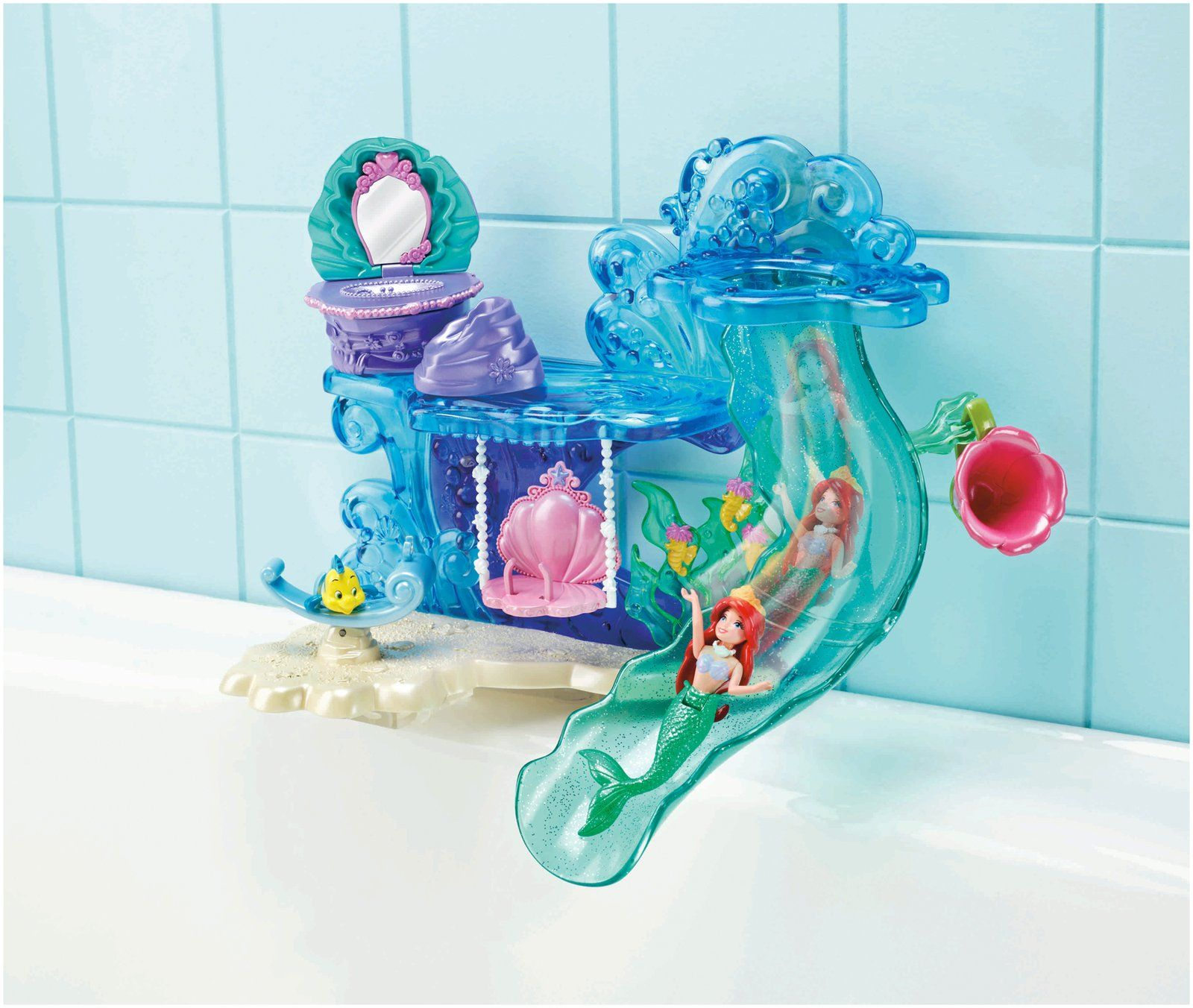 Disney Princesses Bath Toys Ariel Yahoo Search Results Mermaid Bathroom Princess Bathroom Little Mermaid Bathroom