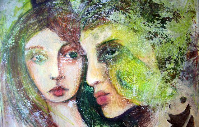 mixed media paintings | Permalink