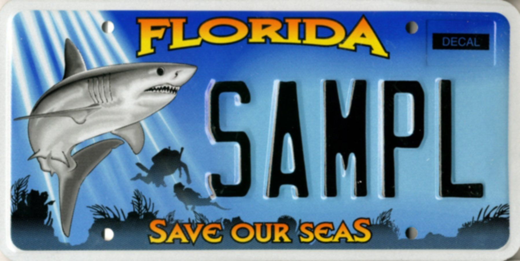 SaveOurSeas (The tag I have) Buy this plate & help fund