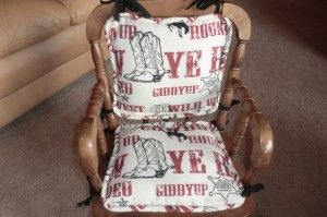 childrens rocking chair cushions oversized round swivel for child s best fabric store projects and make custom a
