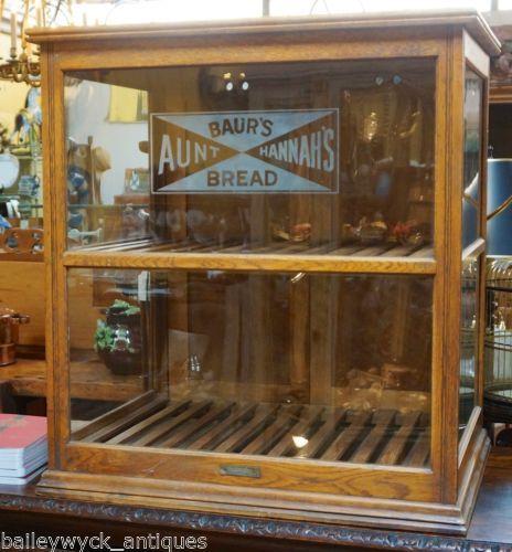 Antique Bread Display Case Bread Display Display Case