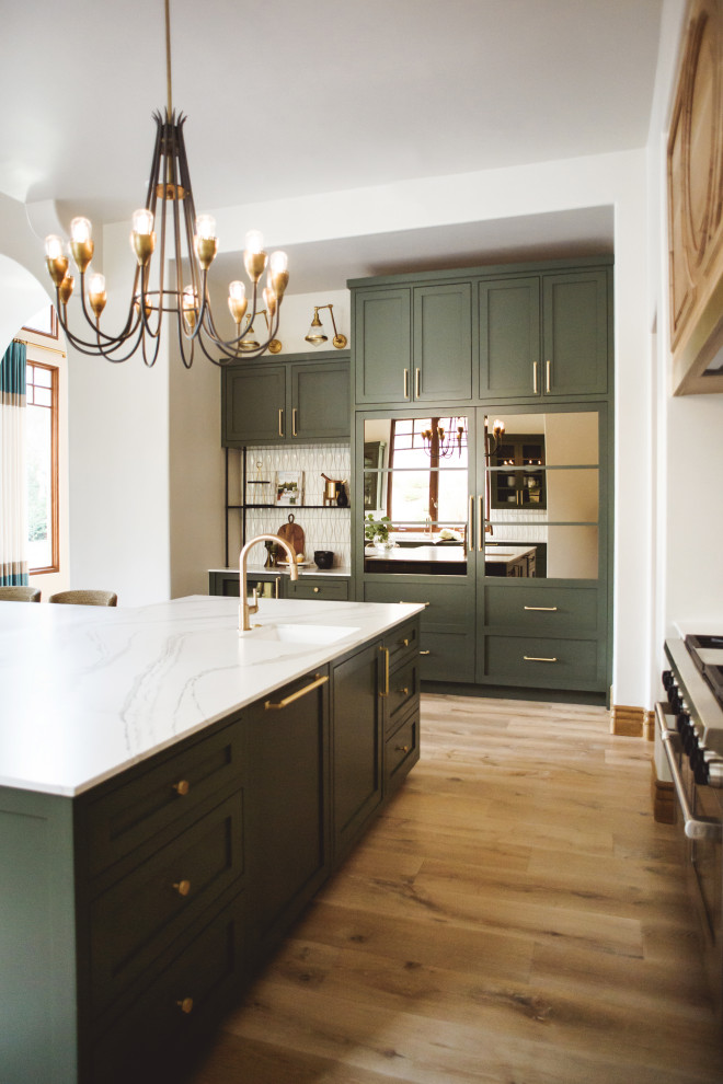 Del Mar Green - Transitional - Kitchen - San Diego - by ...