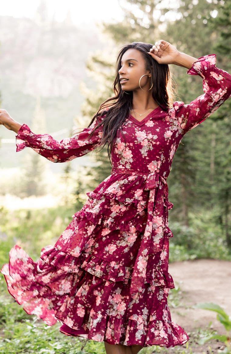 Rachel Parcell Joanna Floral Swiss Dot Long Sleeve Midi Dress Nordstrom Exclusive Nordstrom Long Sleeve Midi Dress Nordstrom Dresses Long Sleeve Midi [ 1164 x 760 Pixel ]