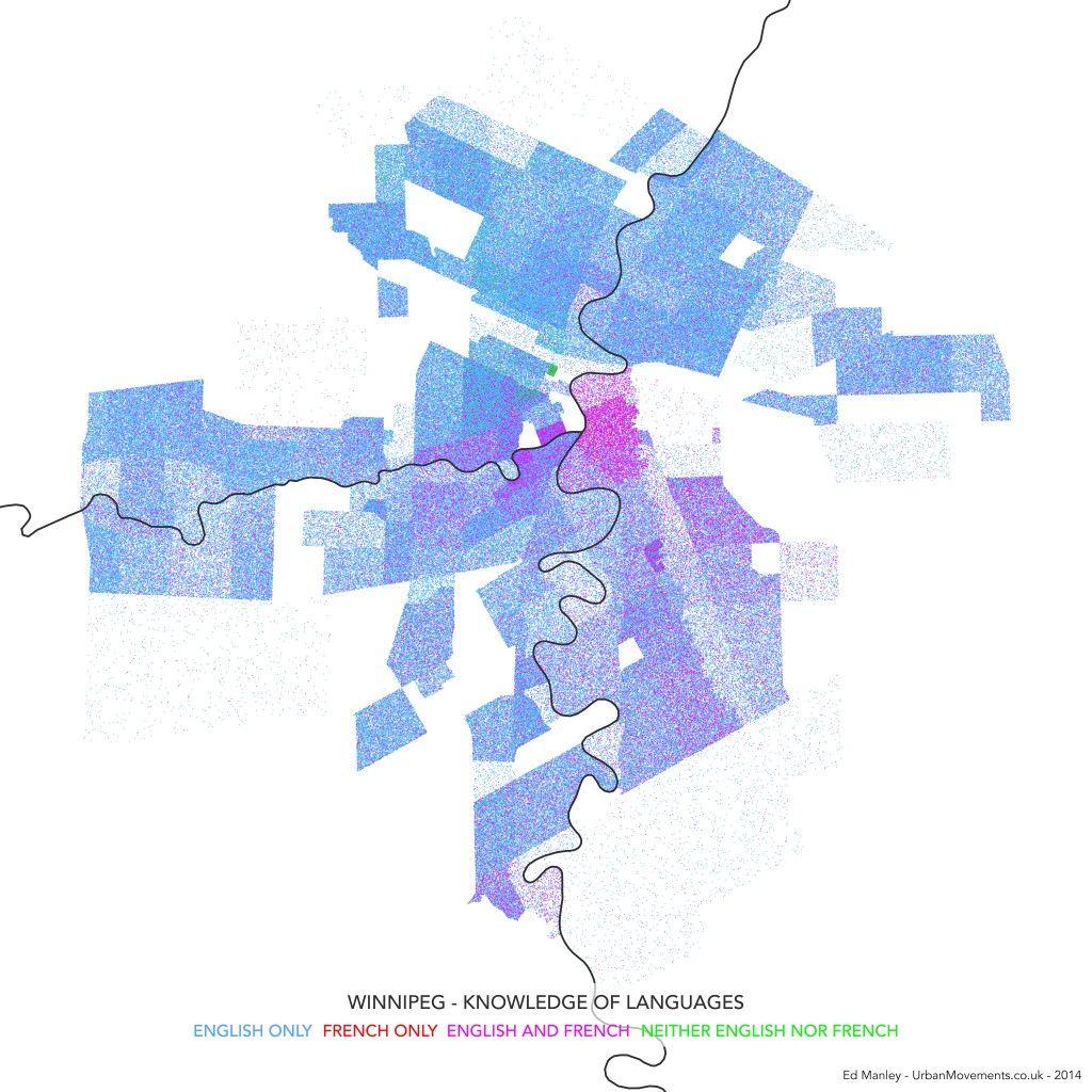 Dot Densifying a Canadian City in 2020 | City, Winnipeg ...