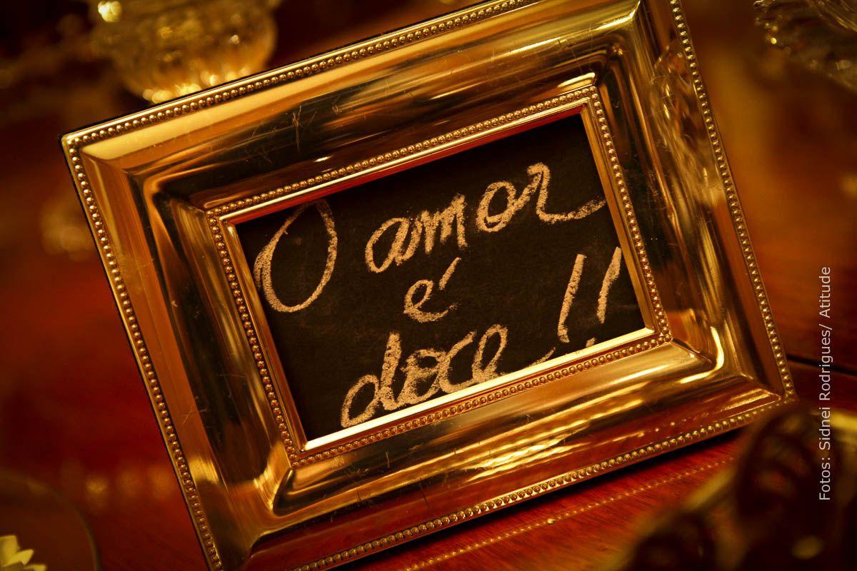 Amor é doce...