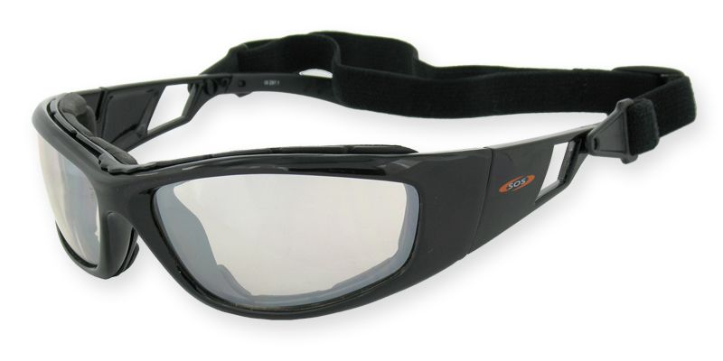 SOS Eyewear Cryptic clear lens Motorcycle sunglasses www.survivaloptics.com.au/collections/sos-motorcycle/cryptic
