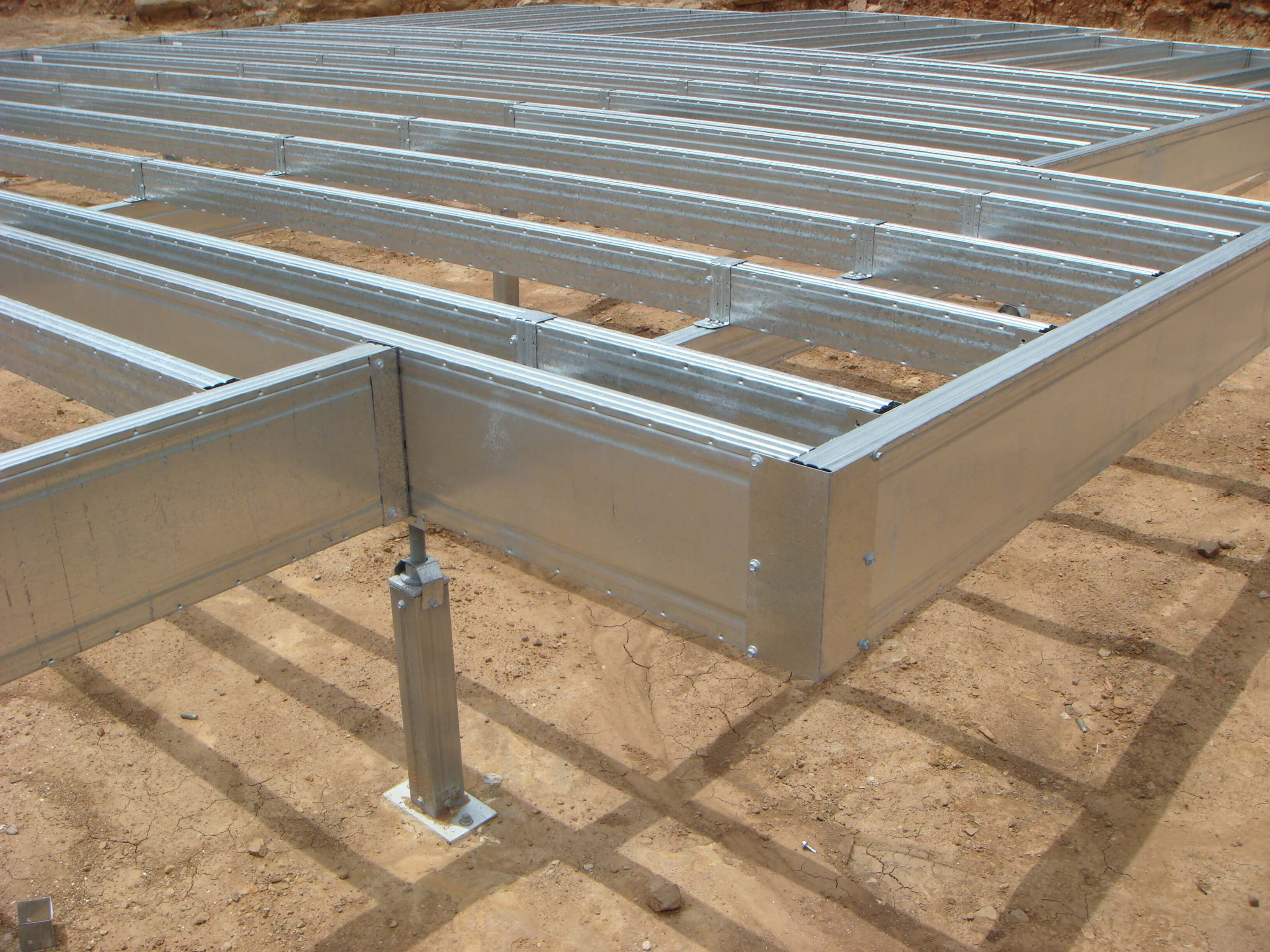 Boxspan ground floor frames are designed and delivered as kits ...