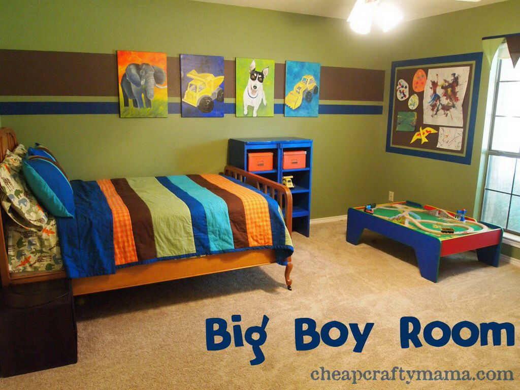 Bright Colours Boys Room Small Boys Bedrooms Boy Toddler