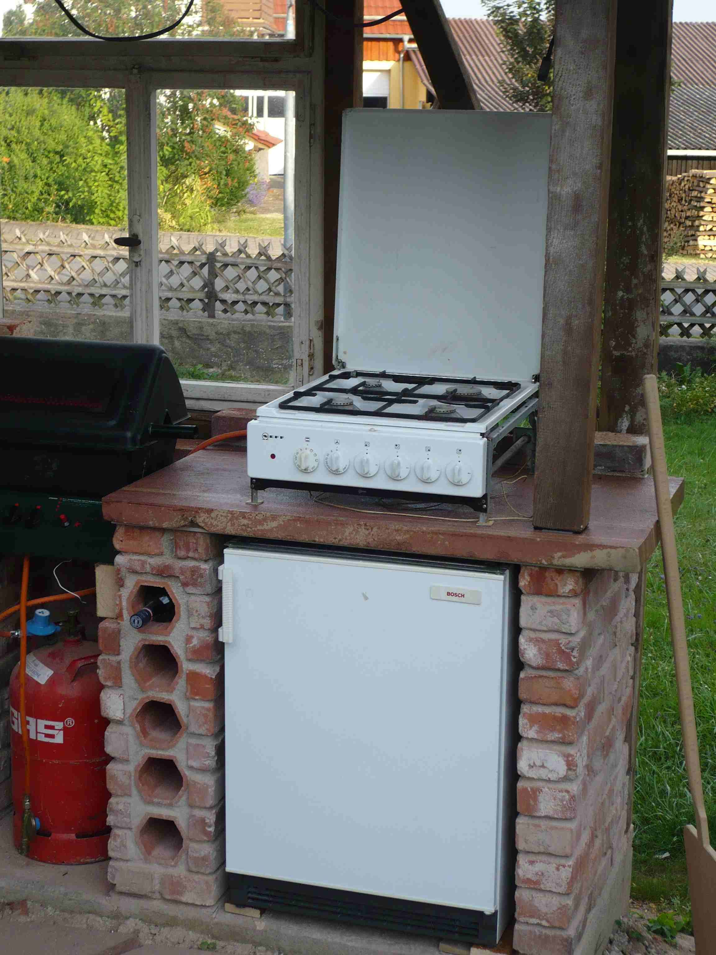 pin von d ne auf grillecke smooker bauen outdoor k che k che und garten. Black Bedroom Furniture Sets. Home Design Ideas
