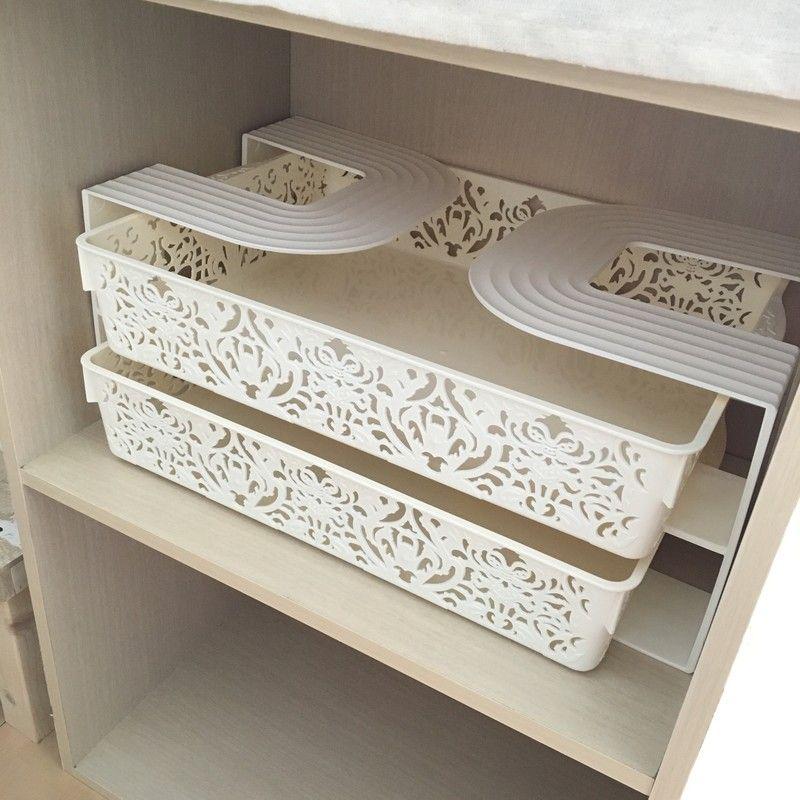 100均材料で便利に カラーボックスに棚を作る方法4選 インテリア