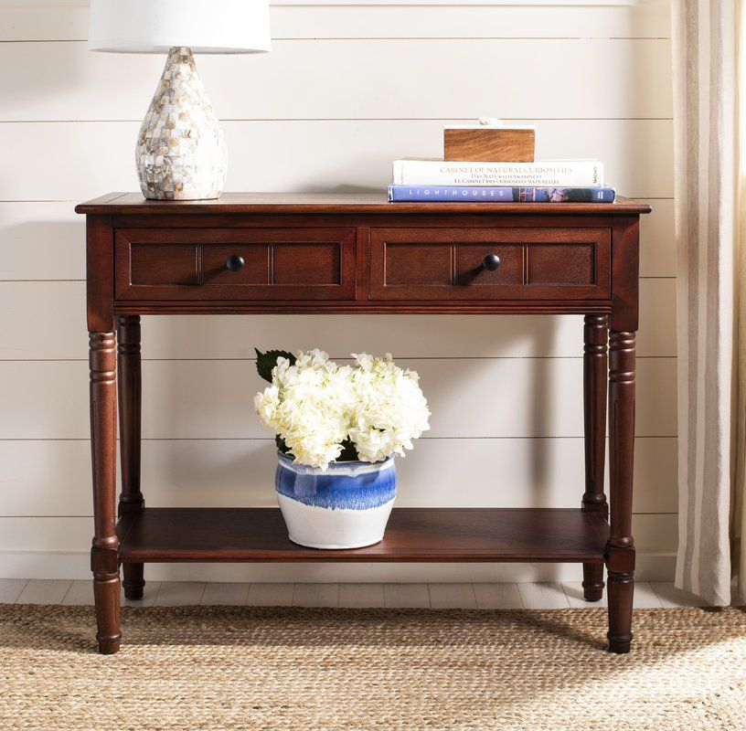 Regan 35 8 Solid Wood Console Table Wood Console Table Wood Console Console Table