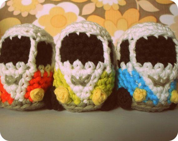 VW Inspired Camper Van crochet amigurumi pdf pattern INSTANT ...