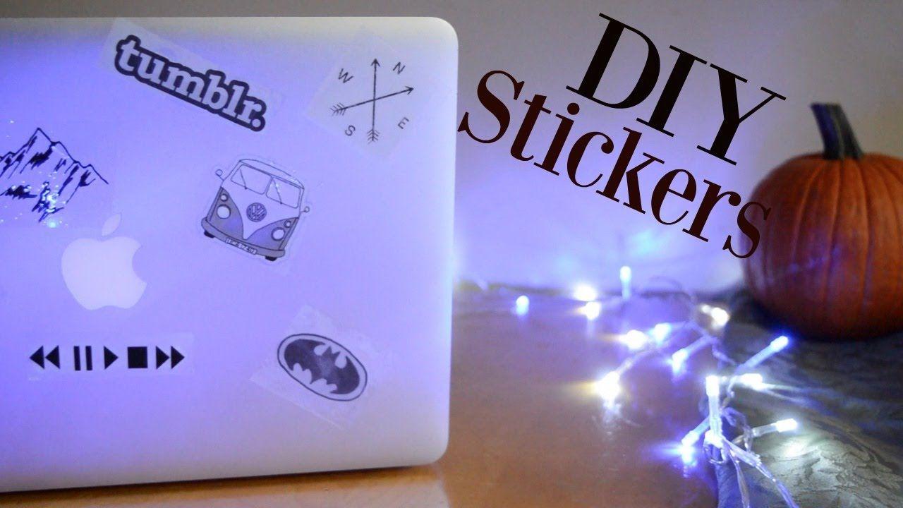 Diy Tumblr Laptop Stickers Laptop Stickers Diy Diy Laptop