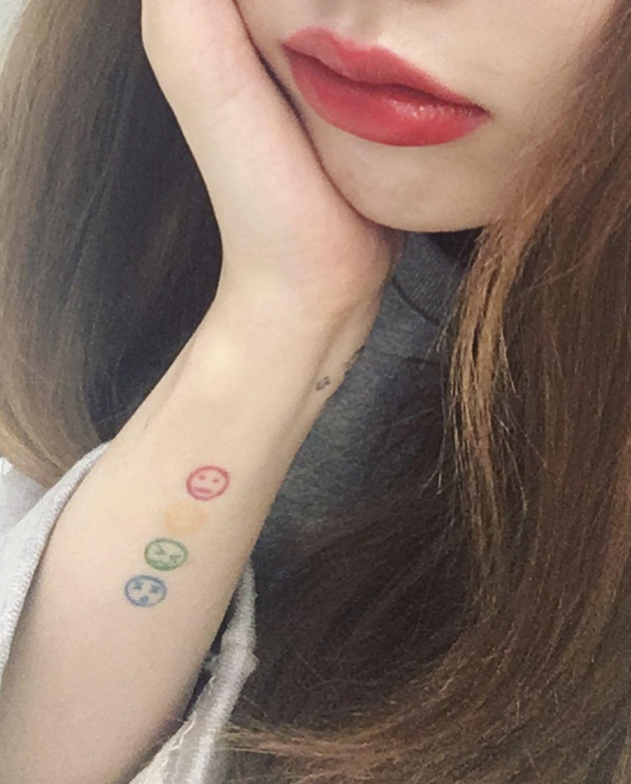 f6f86ba18 ˏˋpinterest: ohnuggets ˎˊ˗ 」 ♡   Tattoo   Korean tattoos, Wrist ...