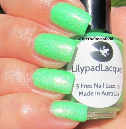 Lilypad Lacquer Lime Zinger