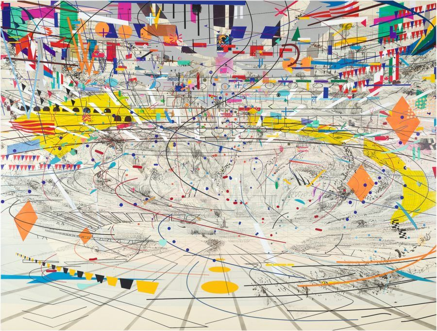 High Museum to present exhibition of work by Ethiopian artist Julie Mehretu - Atlanta INtown Paper | Map painting, Carnegie museum of art, Art