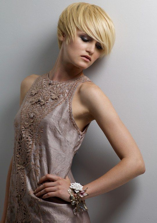 Short hairstyles: short hair styles by Elizabeth Brierly and Amy Aitkenhead at Hair@Jibe