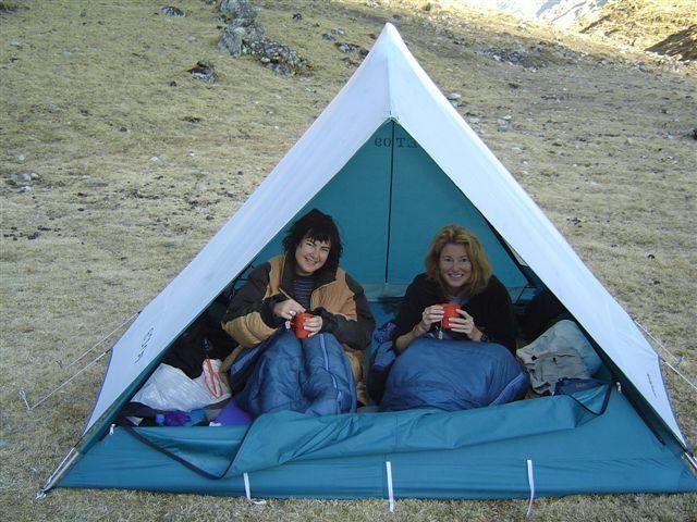Bed Tea on the ground