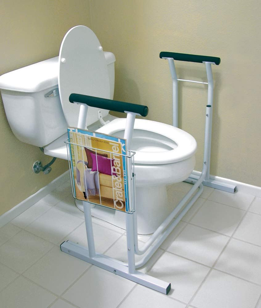 Deluxe Toilet Safety Support | Aids to Daily Living | Pinterest ...