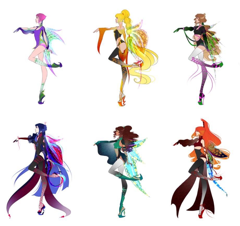 Winx's new transformation by MinamiKoboyasy