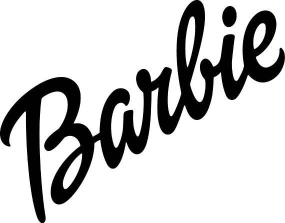 Barbie svg Barbie logo svg Barbie silhouette Barbie